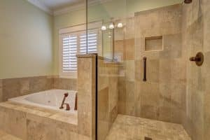 carrelage petite salle de bain bonne dimension des carreaux